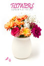 Beautiful flower bouquet Stock Photo