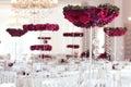 Beautiful Flowers On Wedding T...