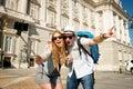 Beautiful Friends Tourist Coup...