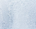 Beautiful frosty pattern on glass can be used as a background Royalty Free Stock Photo