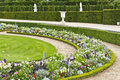 Beautiful garden in a Famous palace Versailles Royalty Free Stock Photo