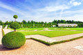Beautiful garden versailles france september france on september palace was a royal chateau most Royalty Free Stock Photography
