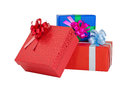 Beautiful giftbox Stock Photography
