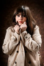 A beautiful girl Royalty Free Stock Photo