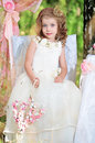 Beautiful baby princess Royalty Free Stock Photo