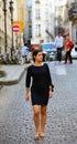 Beautiful girl in Paris Royalty Free Stock Photo
