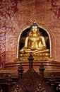 Beautiful golden Buddha image Royalty Free Stock Photography
