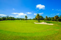 Beautiful golf course Royalty Free Stock Photo
