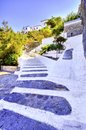 Beautiful Greek island, Hydra Royalty Free Stock Photos