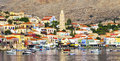 Beautiful Greek islands - Chalki Royalty Free Stock Photo