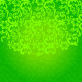 Beautiful green floral background vector backround illustration Stock Images