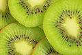 Beautiful green kiwi Royalty Free Stock Photos
