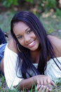 Beautiful Haitian Girl Outdoors (14) Stock Photography