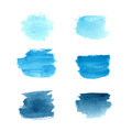 Beautiful hand drawn abstract watercolor stain background.