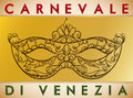 Beautiful Hand Drawn Colombina Mask for Carnival of Venice, Vector Illustration