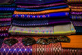 Beautiful Hand Made Thai Silk Stock Image