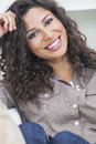 Beautiful Happy Hispanic Woman Smiling Royalty Free Stock Image