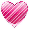 Beautiful heart Stock Image