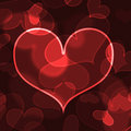 Beautiful heart shape background Royalty Free Stock Photo