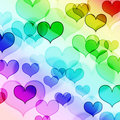 Beautiful heart shape background Stock Photos