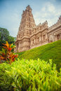 Beautiful Hindu temple in Malaysia