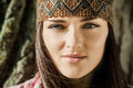 Beautiful hippie girl Royalty Free Stock Photography