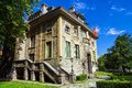 Beautiful historical building in the historic Cetinje, Montenegr
