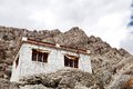 A beautiful house in the complex of hemis monastery leh existed before th century this was re built by ladakhi king sengge namgyal Royalty Free Stock Images
