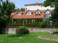 Beautiful house this home is located in one of the villages in hungary Stock Photography