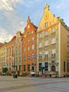 Beautiful houses in Gdansk Royalty Free Stock Photo