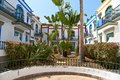Beautiful houses in puerto de mogan and small garden Royalty Free Stock Image