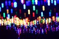 Abstract illuminated lights glow photograph Royalty Free Stock Photo
