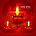 Beautiful illustration for happy deepavali bright colorful desig design Royalty Free Stock Photography