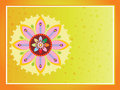 Beautiful illustration for happy onam Royalty Free Stock Image