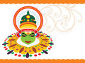 Beautiful illustration for happy onam Stock Photo