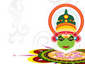 Beautiful illustration for onam Royalty Free Stock Photography