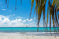 A beautiful image of caribbean sea Royalty Free Stock Photo