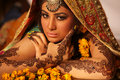 Beautiful indian bride Royalty Free Stock Photo