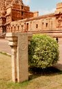 Beautiful inner view of the ancient  Brihadisvara Temple in Thanjavur, india.