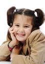 Beautiful inocent childhood Royalty Free Stock Photo