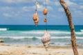 Beautiful island, beach of Isla Mujeres, , Mexico Royalty Free Stock Photo