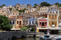 Beautiful island Symi Royalty Free Stock Photo