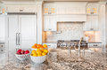Beautiful Kitchen Detail in Luxury Home Royalty Free Stock Photo