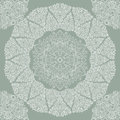 Beautiful lace pattern seamless background with a circular complex openwork design Royalty Free Stock Photos