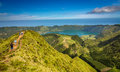 stock image of  Beautiful lake of Sete Cidades, Azores, Portugal Europe