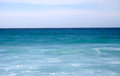 Beautiful landscape a blue sea Royalty Free Stock Photos