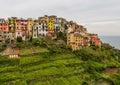 Beautiful landscape of Cinque Terre village, Corniglia, Italy Royalty Free Stock Photo
