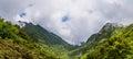 Beautiful landscape of mount Unzen in Kumamoto, Japan. Royalty Free Stock Photo