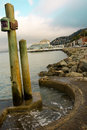Beautiful Landscape of Sausalito California Stock Photos