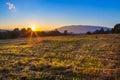 Beautiful lanscape of sunrise Royalty Free Stock Photo